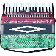 Open Box SofiaMari SM-3448 34 Piano 48-Bass Accordion