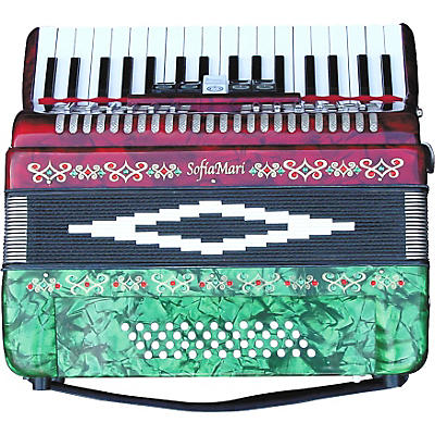 Sofiamari SM-3448 34 Piano 48-Bass Accordion