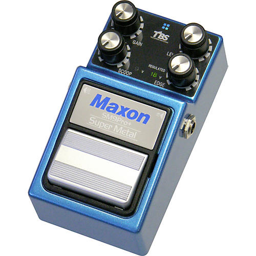 Maxon SM-9 Pro Plus Super Metal Distortion Guitar Effects Pedal from Nine Series