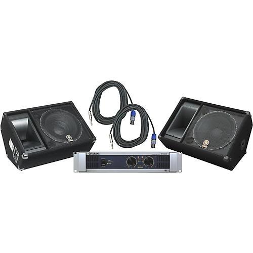 Yamaha SM15V/ P5000S Speaker & Amp Package