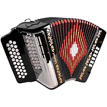 SofiaMari SM3112 Black FBE 31 Button Accordion