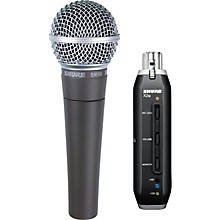 Shure SM58 and X2u XLR-to-USB Digital Bundle