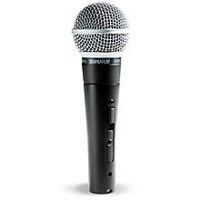Open BoxShure SM58S Mic with Switch