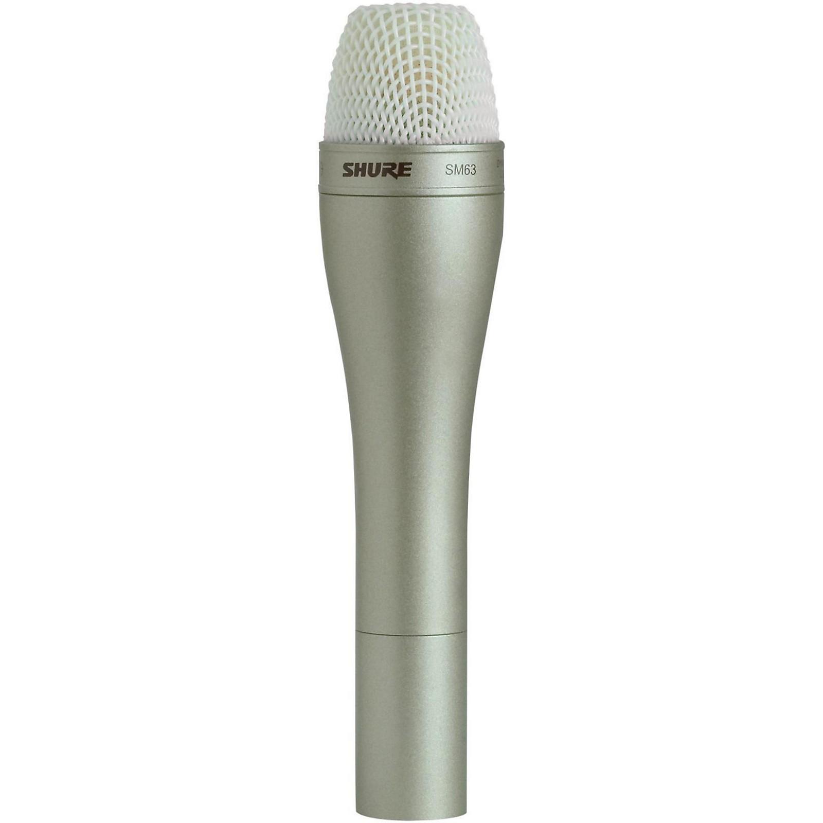 Shure SM63 Handheld Dynamic Omnidirectional Microphone