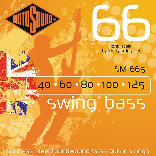 Rotosound SM665 Swing Bass 5-String RoundwoundBass Strings