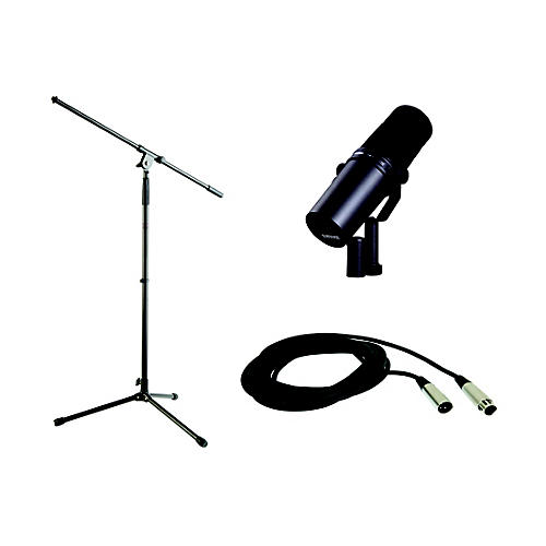 Shure SM7B Stand and Cable Bundle