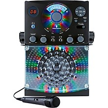 Open Box The Singing Machine SML385BT Bluetooth Karaoke System with CD Player and LED lights