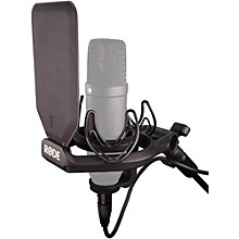 Open BoxRode SMR Premium Shock Mount with Rycote Onboard