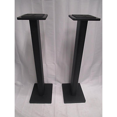 DR Pro SMS1BK Wood Studio Monitor Stand Pair Monitor Stand