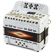SMTT-3412, Two Tone Accordion White Pearl Sol/Fa