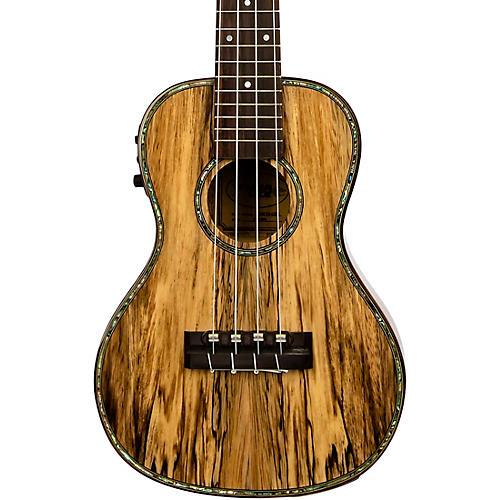 lanikai smtu cek tunauke spalted mango concert acoustic electric ukulele musician 39 s friend. Black Bedroom Furniture Sets. Home Design Ideas