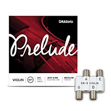 Kratt SN3 Violin Pitch Pipe With D'Addario Prelude Violin String Set 4/4