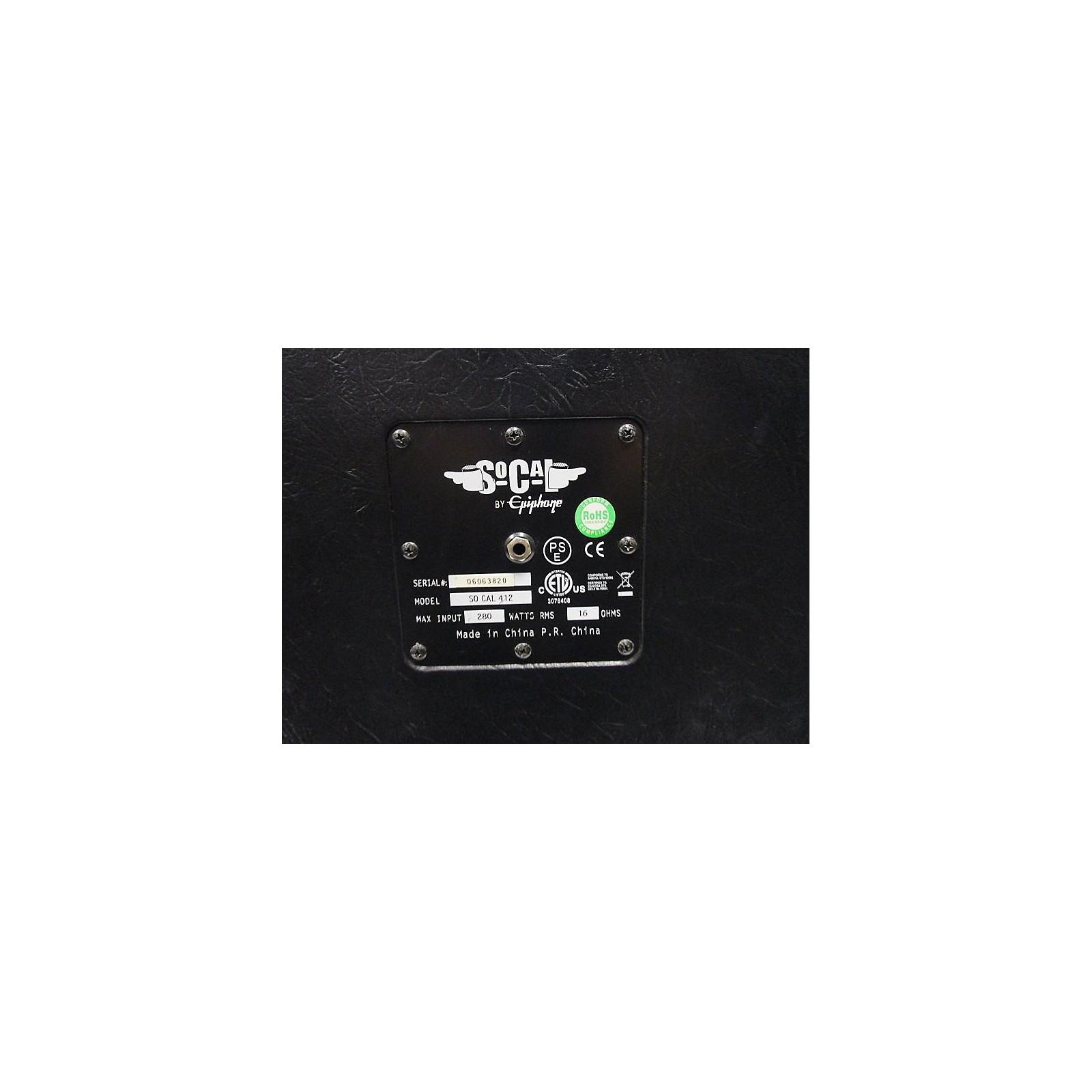 Epiphone SOCAL 4x12 Guitar Cabinet