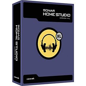 cakewalk sonar home studio 4 xl musician 39 s friend. Black Bedroom Furniture Sets. Home Design Ideas