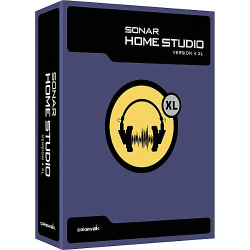 Cakewalk SONAR Home Studio 4 XL