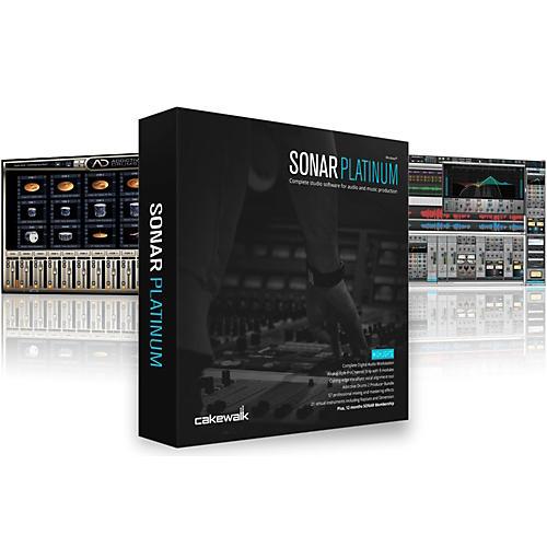 Cakewalk SONAR Platinum Upgrade from SONAR Producer or SONAR Platinum Software Download