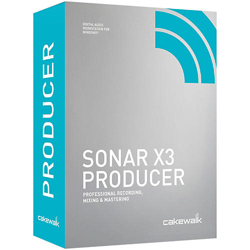 Cakewalk SONAR X3 Producer Edition Software Download