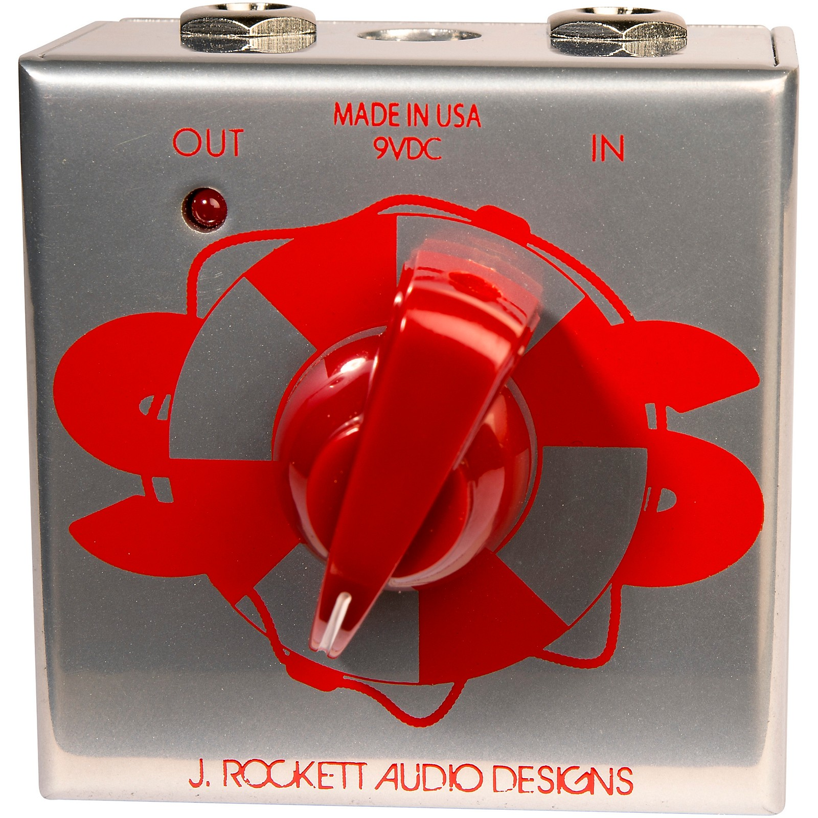 Rockett Pedals SOS Transistor Buffer Effects Pedal