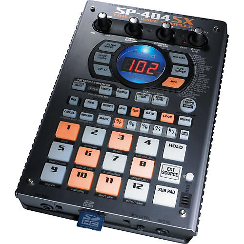 roland sp 404sx portable sampler with effects musician 39 s friend. Black Bedroom Furniture Sets. Home Design Ideas