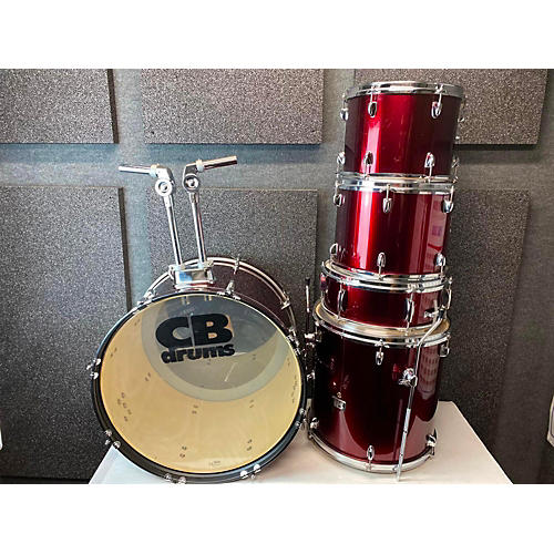 CP SP SERIES Drum Kit RED SPARKLE