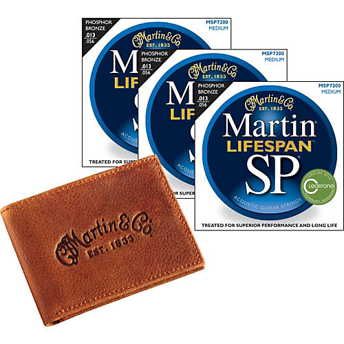 Martin SP7200 Lifespan Medium 3-Pack with Martin Wallet
