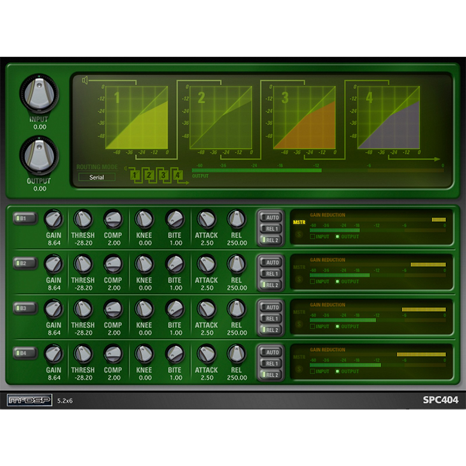 McDSP SPC2000 Native Compressor Plug-in Software Download