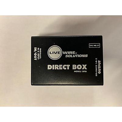 Livewire SPDI Passive Direct Box Direct Box