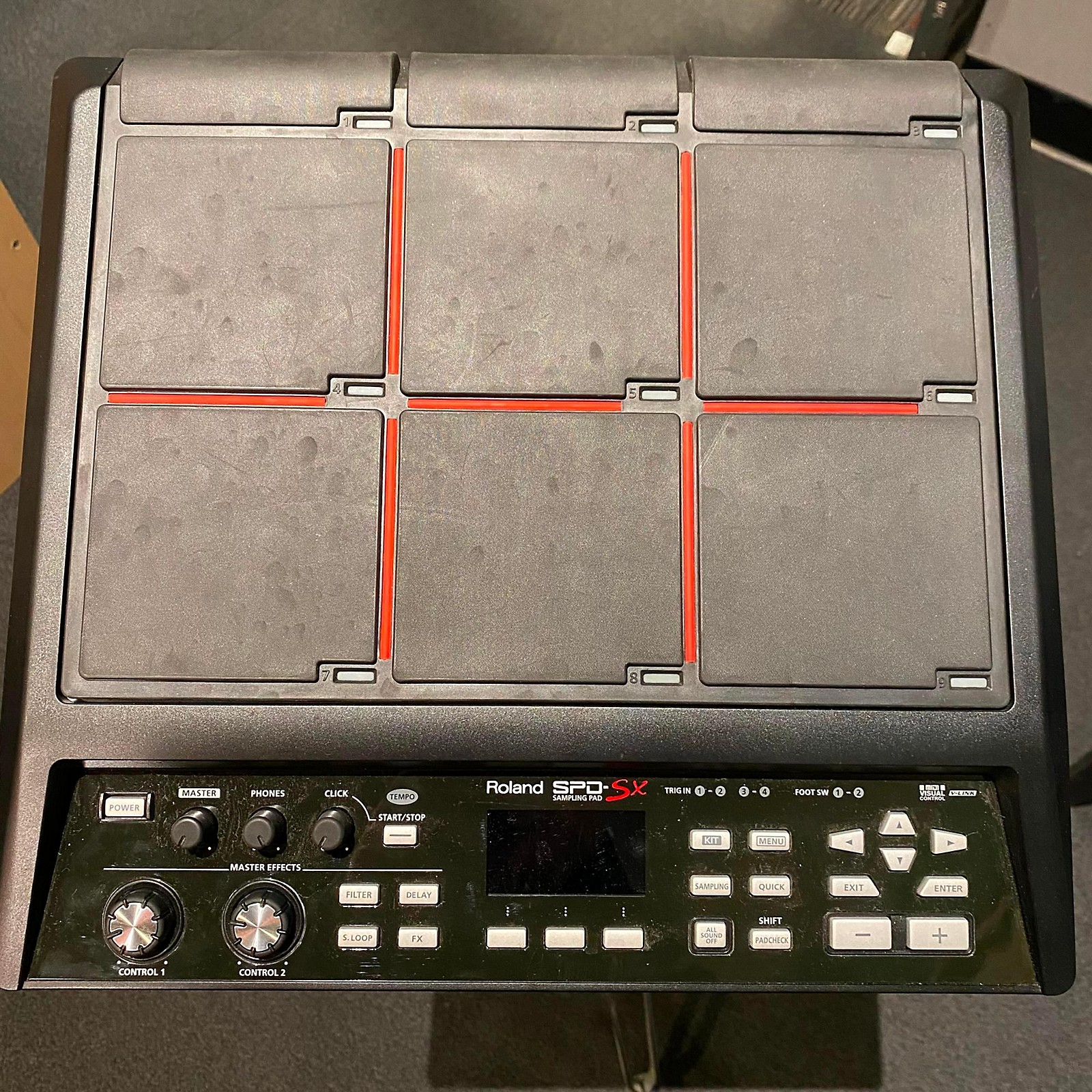 Roland SPDSX Sampling Drum MIDI Controller