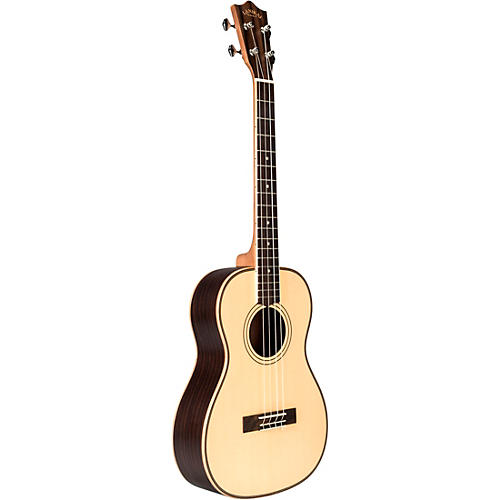 Lanikai SPST-B Solid Spruce Top Morado Back and Side Baritone Ukulele