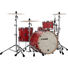 SQ1 3-Piece Shell Pack with 24 in. Bass Drum Hot Rod Red