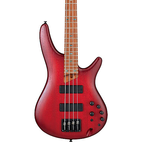 Ibanez SR500E Electric Bass Blackberry Sunburst Flat