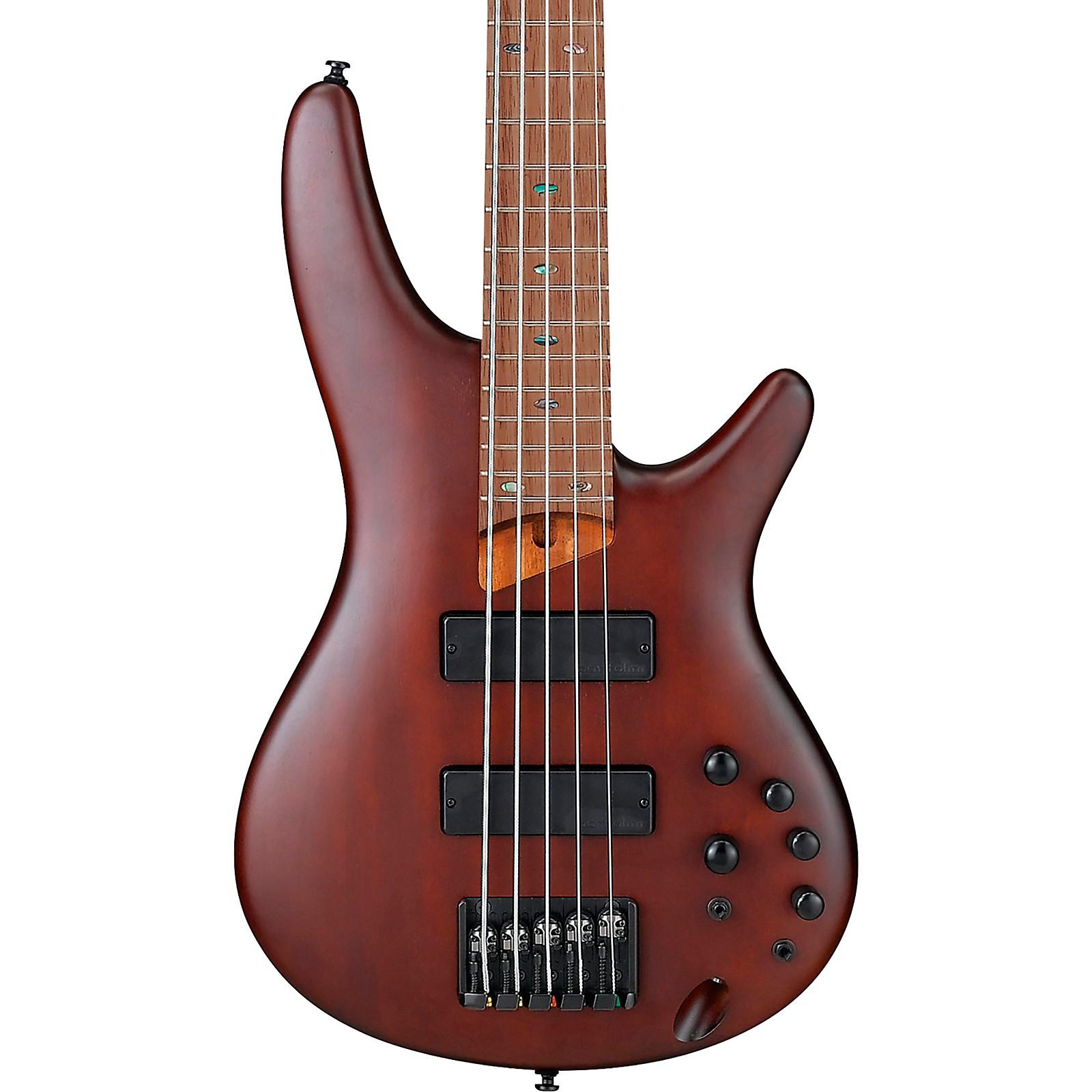 Ibanez SR505EZW 5-String Electric Bass Guitar