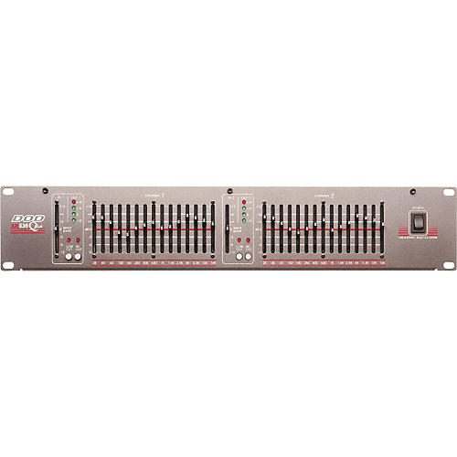 DOD SR830QXLR Dual 15-Band EQ