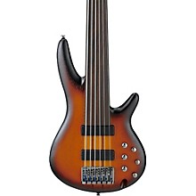 Open Box Ibanez SRF706 6-String Fretless Electric Bass Guitar