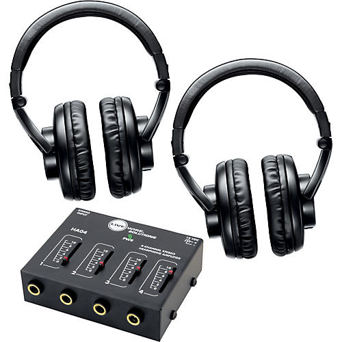Shure SRH440 Two Pack with HA04 Headphone Amp