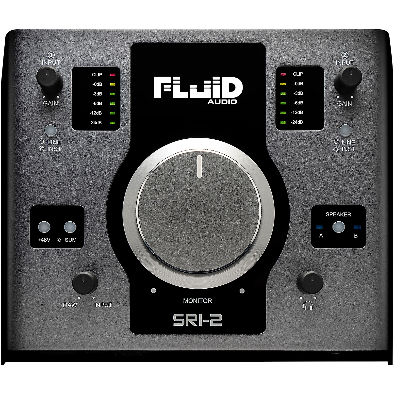 Fluid Audio SRI2 24/192kHz 2x4 Audio Interface