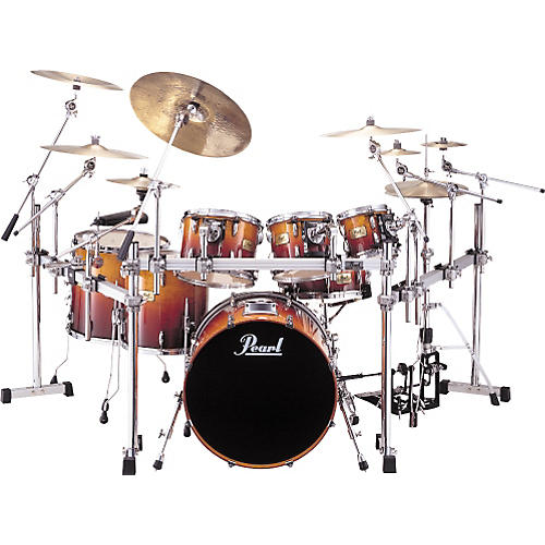 Pearl SRX Session Custom 7 Piece Drumset With Rack