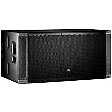 "Open Box JBL SRX828SP Dual 18"" Powered Subwoofer"