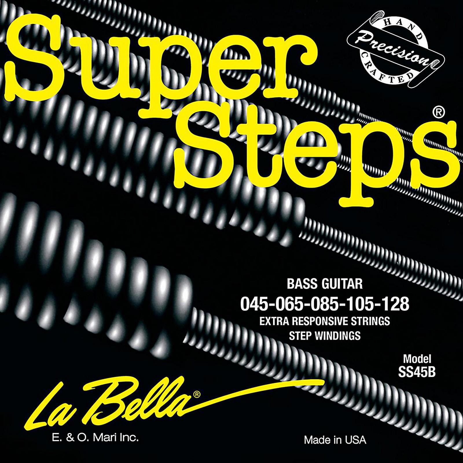 LaBella SS45-B Super Steps Standard 5-String Electric Bass Strings
