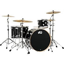 "DW SSC Collector's Series 4-Piece Finish Ply Shell Pack with 24"" Bass Drum with Satin Chrome Hardware"