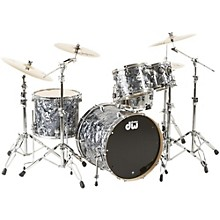 SSC Collector's Series 4-Piece Shell Pack Gray Marine Pearl Chrome Hardware