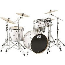 SSC Collector's Series 4-Piece Shell Pack Satin White Twisted Chrome Hardware