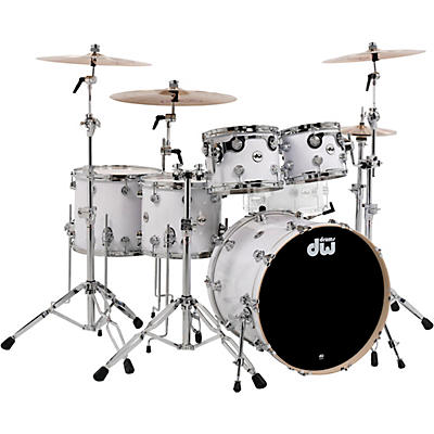 "DW SSC Collector's Series 5-Piece Finish Ply Shell Pack with 22"" Bass Drum and Chrome Hardware"