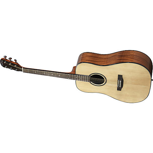 Great Divide SSD-LH Dreadnought Solid Sitka Spruce Top Left-Handed Acoustic Guitar