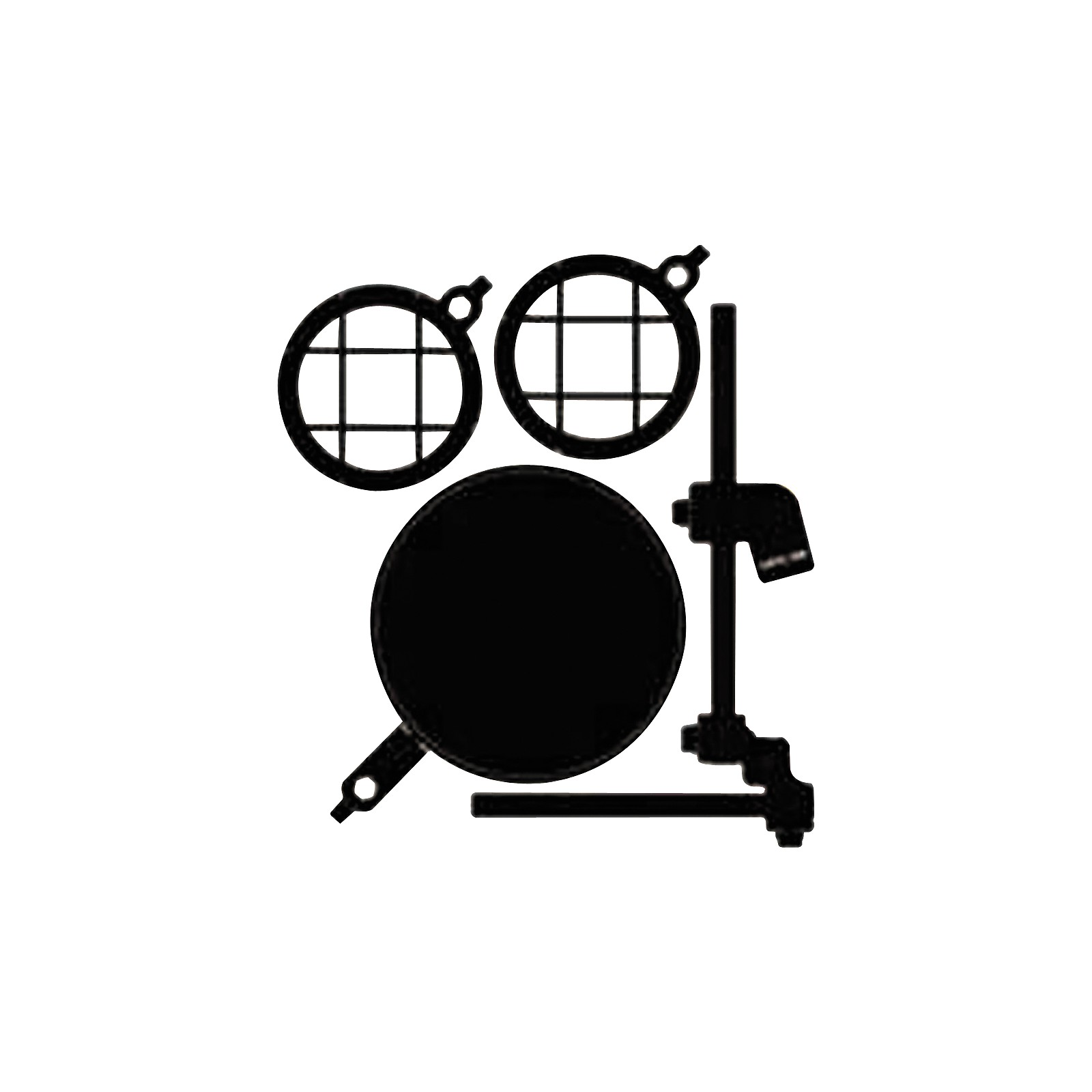 Sabra Som SSM-POP Pop Filter and Shock Mount Kit for Microphones