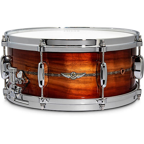 TAMA STAR Bubinga Limited Edition Snare Drum 14 x 6 in. Red Blackwood Burst