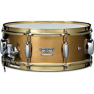 TAMA STAR Reserve Hand Hammered Brass Snare Drum