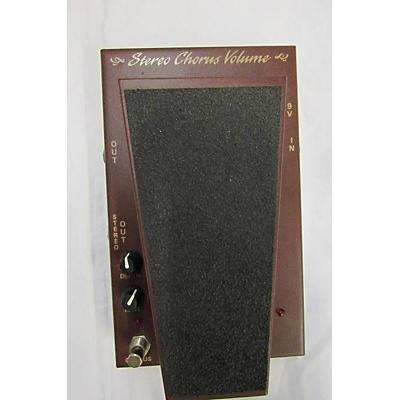 Morley STEREO CHORUS VOLUME Pedal