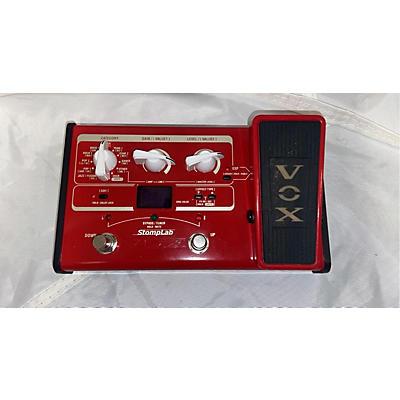 Vox STOMPLAB IIB Bass Effect Pedal