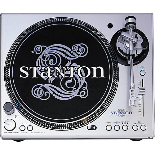 Stanton STR8-100 High-Torque Turntable with Straight Tone Arm